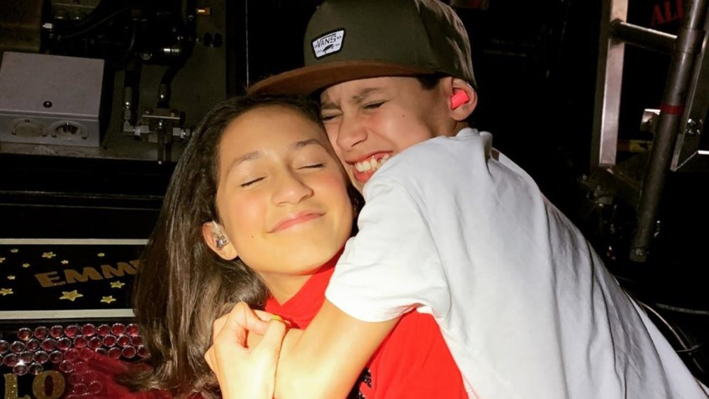 I gemelli Max ed Emme di Jennifer Lopez