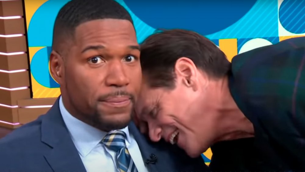 Jim Carrey, Michael Strahan
