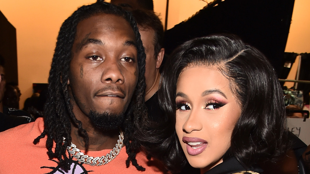 Offset e Cardi B in posa