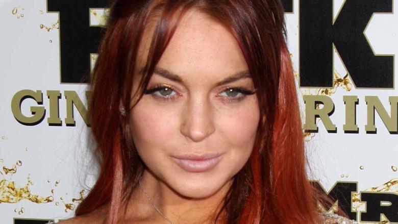 Lindsay Lohan sorride