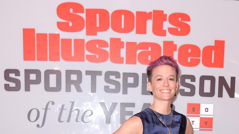 Annuncio di Megan Rapinoe Sports Illustrated