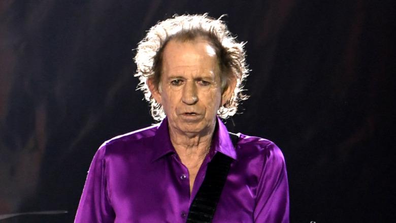 Keith Richards sul palco
