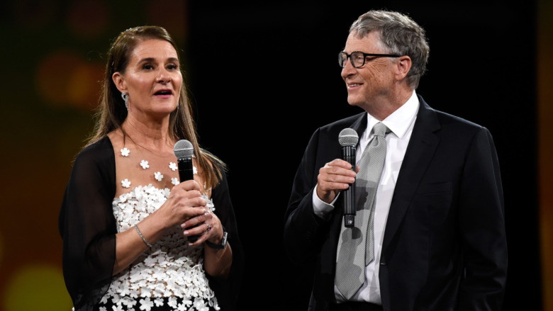 Melinda Gates, Bill Gates, parlando
