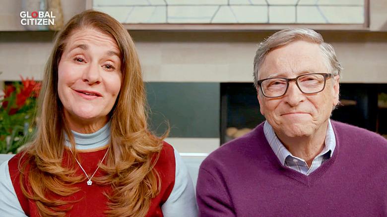 Melinda e Bill Gates parlano