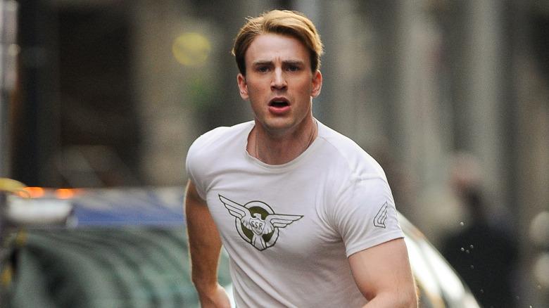 Chris Evans sta girando Captain America