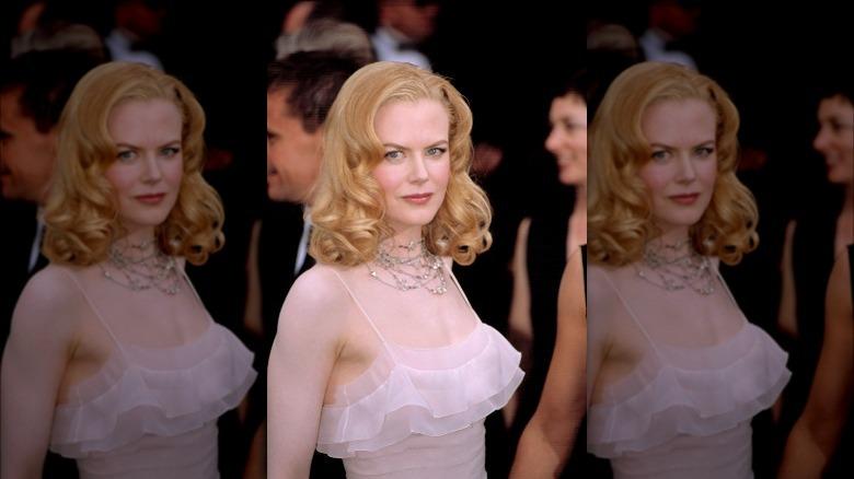 Nicole Kidman agli Oscar del 2002