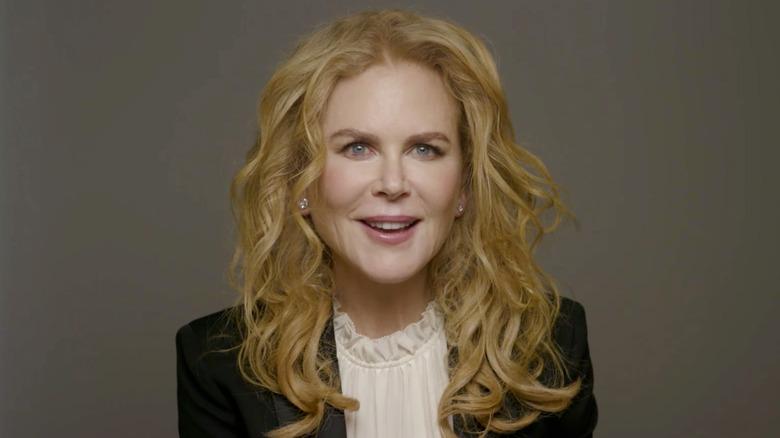 Nicole Kidman sorride nel 2021