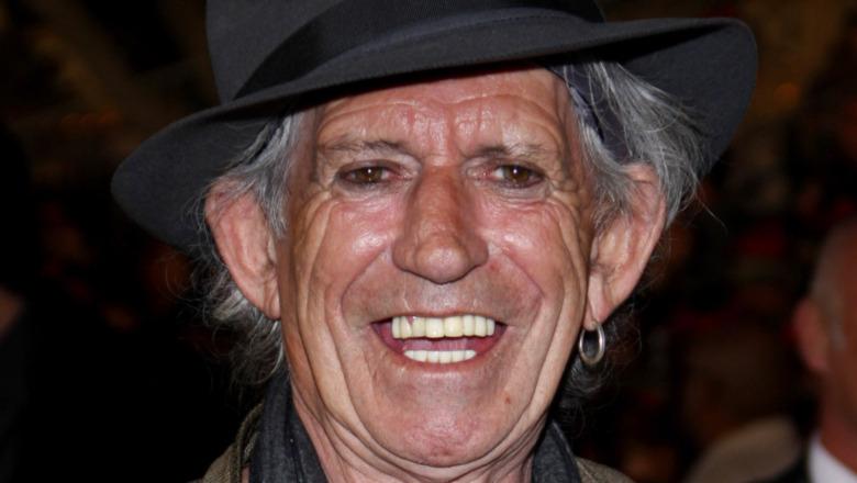 La faccia di Keith Richards