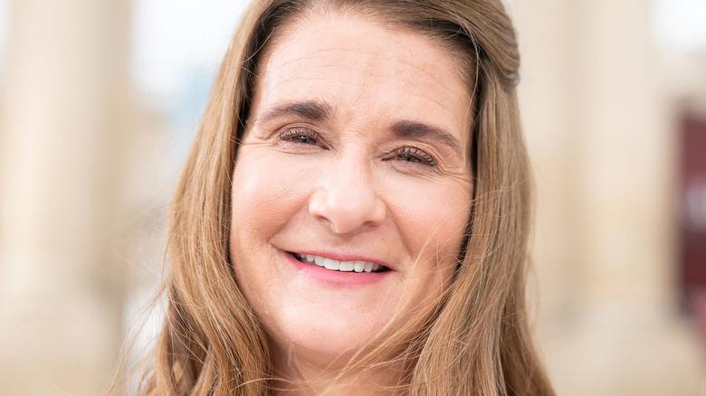 Melinda Gates sorride