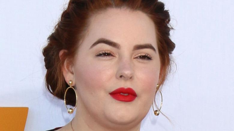Tess Holliday su un tappeto rosso