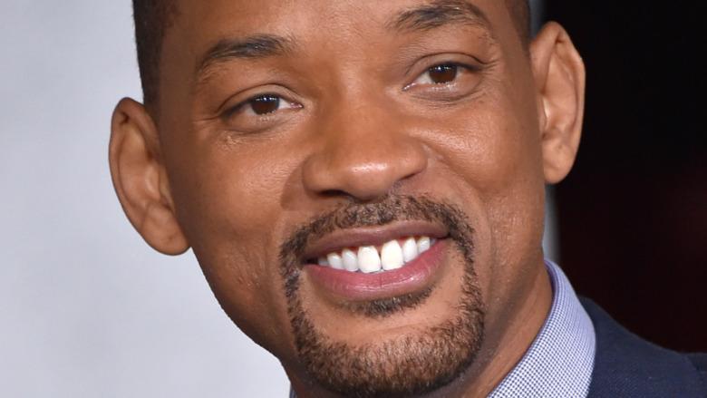 Will Smith alla premiere di Bright del 2017