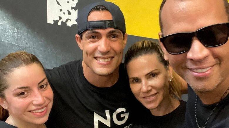 Alex Rodriguez e Cynthia Scurtis insieme