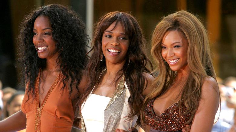 Michelle Williams e il resto delle Destiny's Child