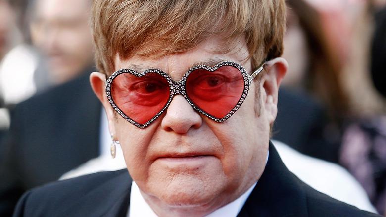 Elton John alla premiere di