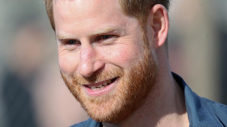 Il principe Harry a un evento