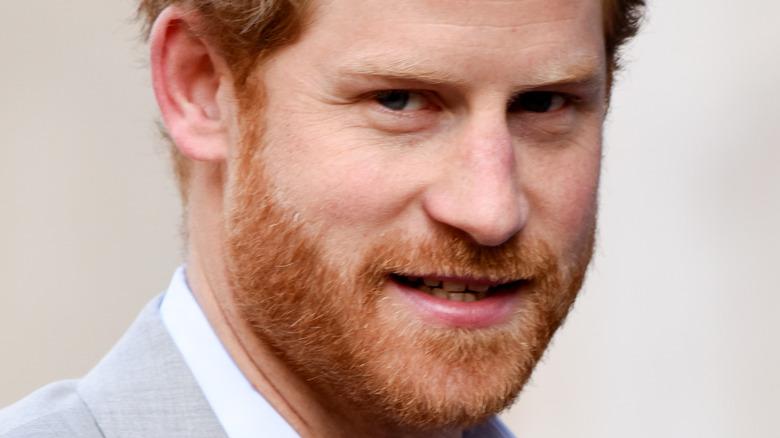 Il principe Harry all'evento