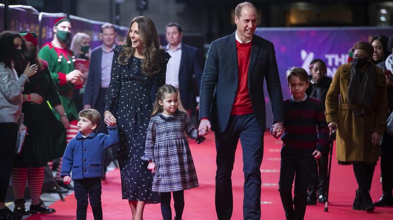 La famiglia Cambridge