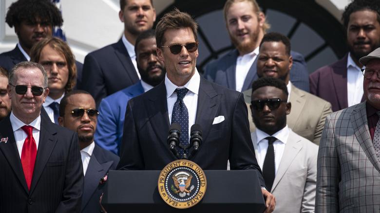 Tom Brady alla Casa Bianca
