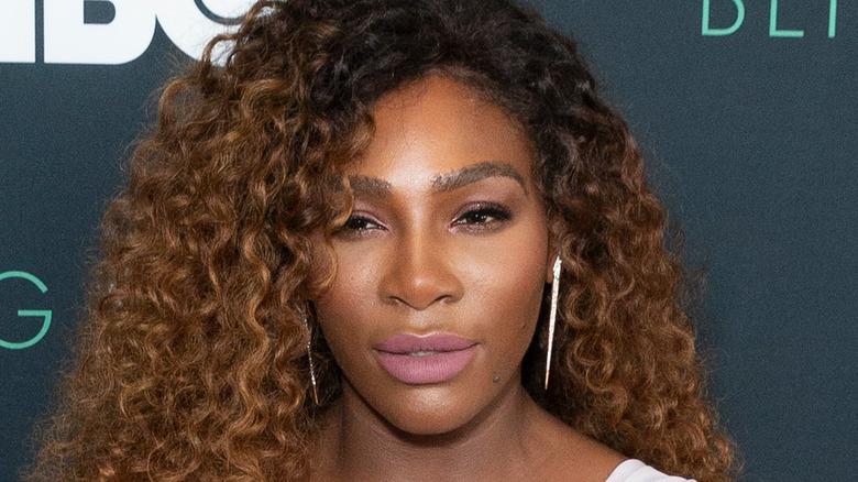 Serena Williams partecipa a un evento