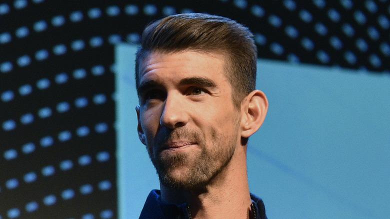 Michael Phelps sul palco