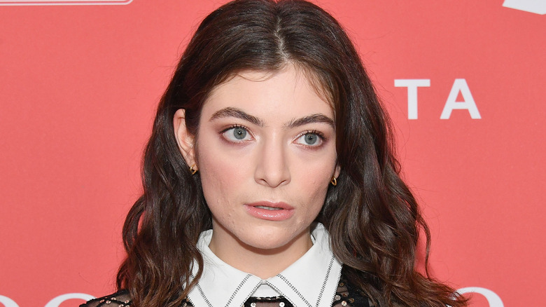 Lorde posa sul red carpet