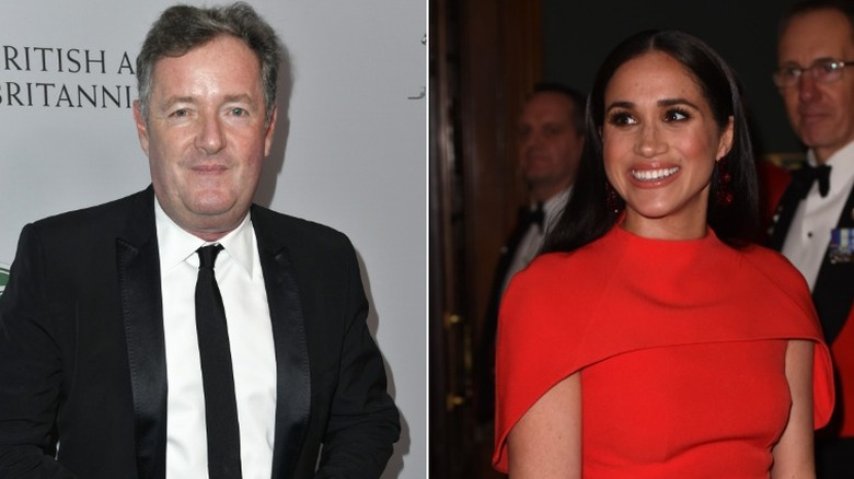 Piers Morgan e Meghan Markle