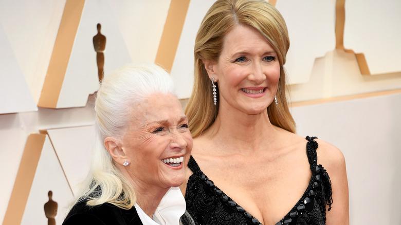 Laura Dern e Diane Ladd alla cerimonia degli Academy Awards 2020.