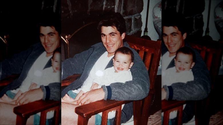 Michael Schoeffling con sua figlia
