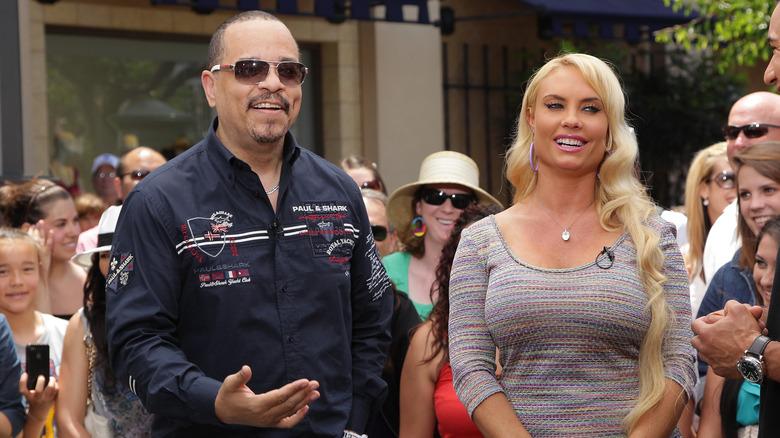 Ice-T e Coco Austin ad un evento