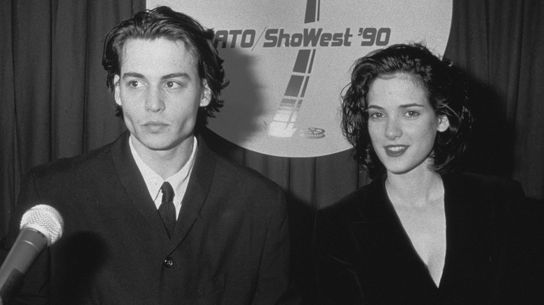 Johnny Depp e Winona Ryder insieme