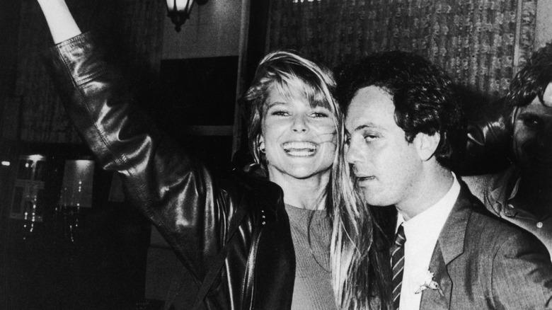 Christie Brinkley e Billy Joel nel 1989