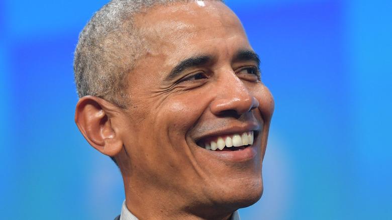 Barack Obama sorride