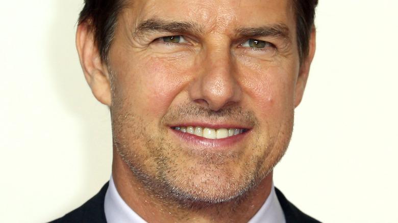 Tom Cruise sorridente