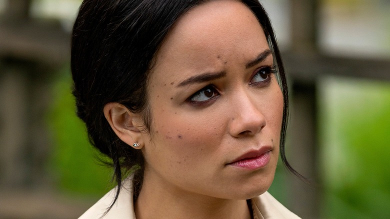 Sydney Morton nei panni di Meghan Markle in Harry & Meghan: Escaping the Palace