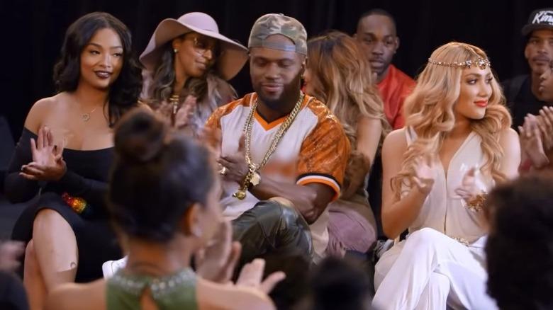 Cast di Love & Hip Hop Hollywood a una sfilata di moda