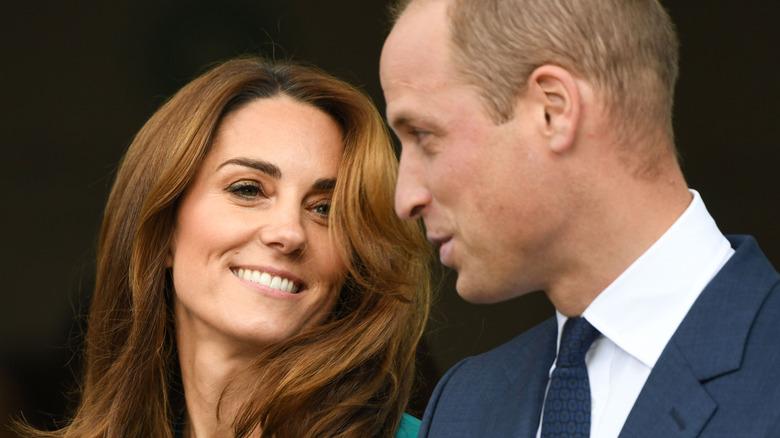 Kate Middleton e il principe William in posa