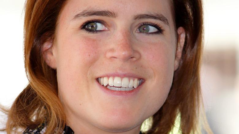 La principessa Eugenia sorride